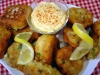 West Indies Fish Cakes With Curry Aioli